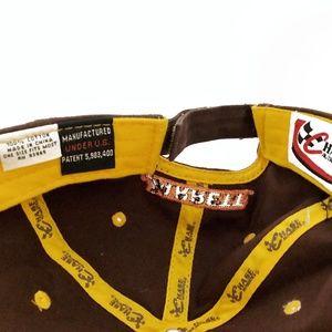 Accessories - VTG NASCAR UPS Sponsor Trucker Hat 44 Jarrett mwr